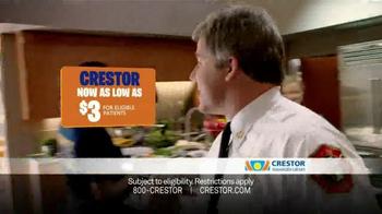 Crestor TV Spot, 'Firefighter' Song by War - Thumbnail 3