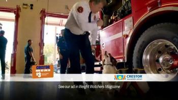 Crestor TV Spot, 'Firefighter' Song by War - Thumbnail 6