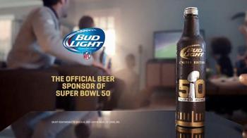 Bud Light Limited Edition Super Bowl 50 TV Spot, 'Super Bowl Throwback' - Thumbnail 5