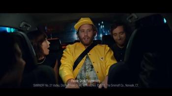 Smirnoff TV Spot, 'Safe Rides, Sharing Rides' Featuring T.J. Miller - Thumbnail 4