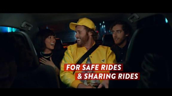 Smirnoff TV Spot, 'Safe Rides, Sharing Rides' Featuring T.J. Miller - 1 commercial airings