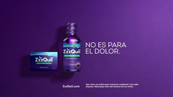 Vicks ZzzQuil TV Spot, 'Es diferente' [Spanish] - Thumbnail 7
