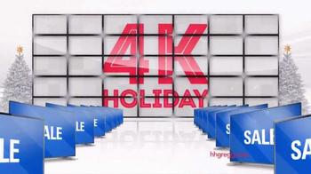 h.h. gregg TV Spot, '4K TVs'