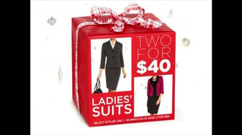 K&G Fashion Superstore Holiday Event TV Spot, 'Ladies' Suits'