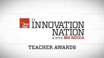 The Henry Ford Teacher Innovator Awards TV Spot, 'CBS: Innovation Nation' - Thumbnail 6