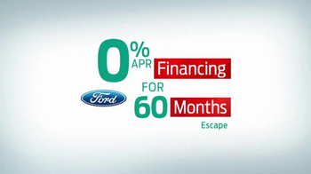 Ford Holiday Sales Event TV Spot, '2016 Escape' - Thumbnail 2