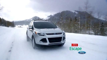 Ford Holiday Sales Event TV Spot, '2016 Escape' - Thumbnail 6