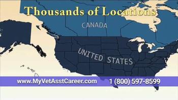 Animal Behavior College TV Spot, 'Certified Vet Assistant' - Thumbnail 6