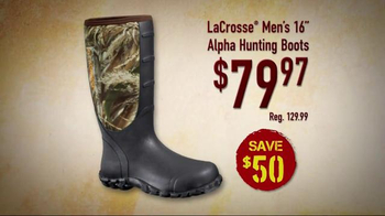Bass Pro Shops Gear Up Sale TV Spot, 'Boots, Camera and Stand' - Thumbnail 6