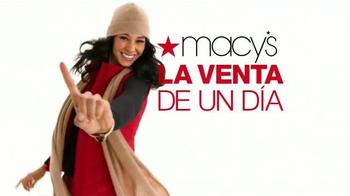 Macy's La Venta de Un Día TV Spot, '' [Spanish] - Thumbnail 1