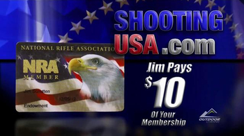 Shooting USA TV Spot, 'Outdoor Channel: NRA Membership - Jim Pay's' - 84 commercial airings