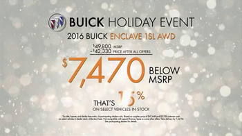Buick Holiday Event TV Spot, 'Is That a Buick?' - Thumbnail 9