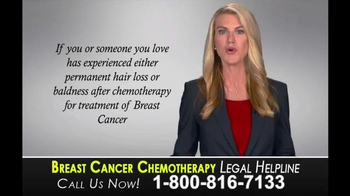 Law Offices of Bachus & Schanker TV Spot, 'Breast Cancer Chemotherapy' - Thumbnail 3