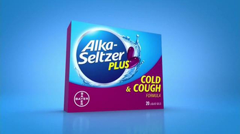 Alka-Seltzer Plus Cold & Cough TV Spot, 'Coughing and Sneezing' - Thumbnail 3