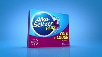 Alka-Seltzer Plus Cold & Cough TV Spot, 'Coughing and Sneezing'