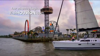 Visit Houston TV Spot, 'My Houston Adventure: Something to Cheer About'