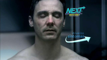 Next Nighttime Cold & Flu Relief TV Spot, 'Reparador del sueño' [Spanish]