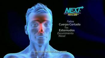 Next Nighttime Cold & Flu Relief TV Spot, 'Reparador del sueño' [Spanish] - Thumbnail 6