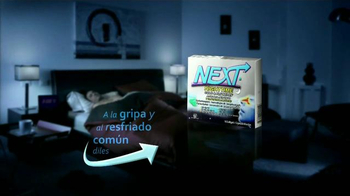 Next Nighttime Cold & Flu Relief TV Spot, 'Reparador del sueño' [Spanish] - Thumbnail 8