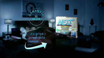Next Nighttime Cold & Flu Relief TV Spot, 'Reparador del sueño' [Spanish] - Thumbnail 9