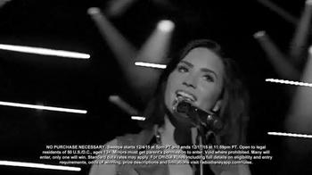 Radio Disney TV Spot, 'Holidays Unwrapped Sweepstakes' Feat. Demi Lovato - Thumbnail 5