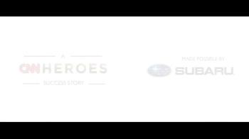 Subaru TV Spot, 'A CNN Heroes Success Story' - Thumbnail 1