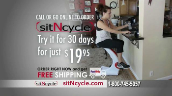 Sit N Cycle TV Spot, 'Made for You' Featuring Dorothy Hamill - Thumbnail 9