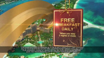 Atlantis Bahamas TV Spot, 'Free Breakfast' - Thumbnail 5