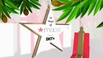 Macy's TV Spot, 'BET: 12 Days of Christmas' - Thumbnail 1