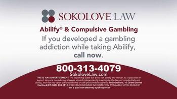 Sokolove Law TV Spot, 'Abilify Gambling Problem' - Thumbnail 5