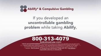 Sokolove Law TV Spot, 'Abilify Gambling Problem' - Thumbnail 3