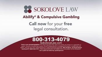 Sokolove Law TV Spot, 'Abilify Gambling Problem' - Thumbnail 4