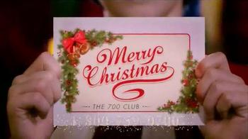 The 700 Club TV Spot, 'Merry Christmas Cling' - Thumbnail 10