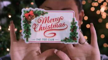 The 700 Club TV Spot, 'Merry Christmas Cling' - Thumbnail 5