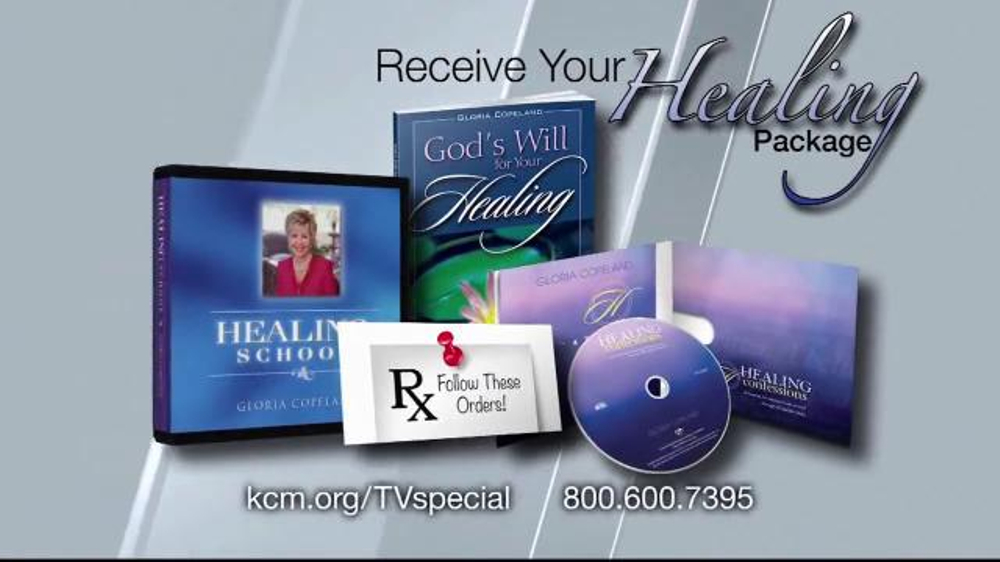 Kenneth Copeland Ministries Receive Your Healing Package TV Commercial, 'Health'