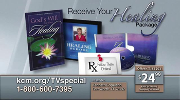 Kenneth Copeland Ministries Receive Your Healing Package TV Spot, 'Health' - Thumbnail 4