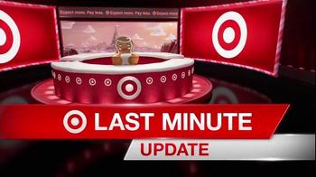 Target TV Spot, 'Deal Forecast Update: Last-Minute Deals' - Thumbnail 1