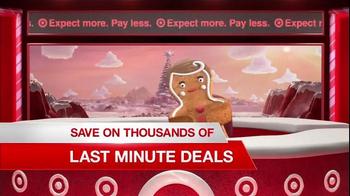 Target TV Spot, 'Deal Forecast Update: Last-Minute Deals' - Thumbnail 9