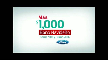 La Gran Venta Navideña de Ford TV Spot, 'Focus y Fusion' [Spanish] - Thumbnail 5