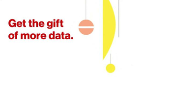 Verizon TV Spot, 'The Gift of Data' - 3201 commercial airings