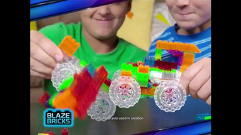 Blaze Bricks TV Spot, 'Slide, Stack, Spin' - 6 commercial airings