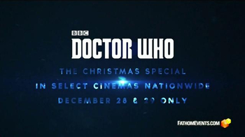 Fathom Events TV Spot, 'Doctor Who Christmas Special' - Thumbnail 6