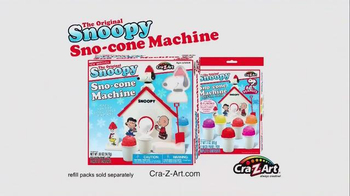 Snoopy Sno-Cone Machine TV Spot, 'Get Your Freeze On' - Thumbnail 9