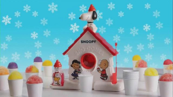 Snoopy Sno-Cone Machine TV Spot, 'Get Your Freeze On' - 107 commercial airings