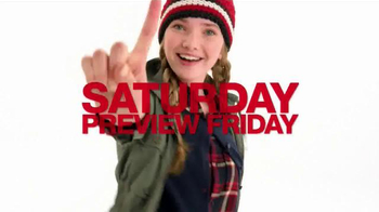 Macy's One Day Sale TV Spot, 'Sweaters, Scarves & Hats' - Thumbnail 1