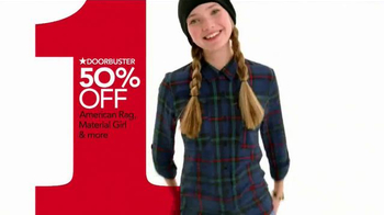 Macy's One Day Sale TV Spot, 'Sweaters, Scarves & Hats' - Thumbnail 7