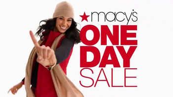 Macy's One Day Sale TV Spot, 'Day of Savings' - Thumbnail 2