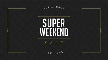 JoS. A. Bank Super Weekend Sale TV Spot, 'BOGO Suits and Sportcoats' - Thumbnail 1