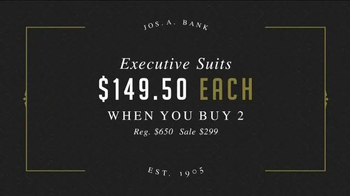 JoS. A. Bank Super Weekend Sale TV Spot, 'BOGO Suits and Sportcoats' - Thumbnail 4