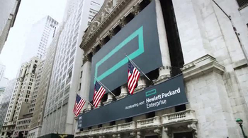 New York Stock Exchange TV Spot, 'Hewlett Packard Enterprise' - Thumbnail 1
